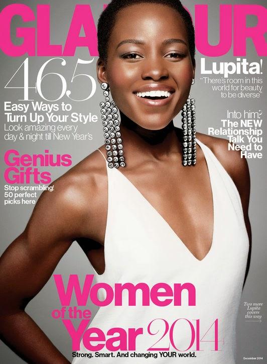Lupita Nyong'o x GLAMOUR Magazine