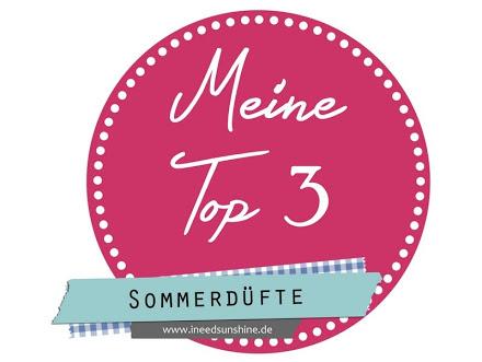 Platz an der Sonne - Meine Top 3 Sommerdüfte