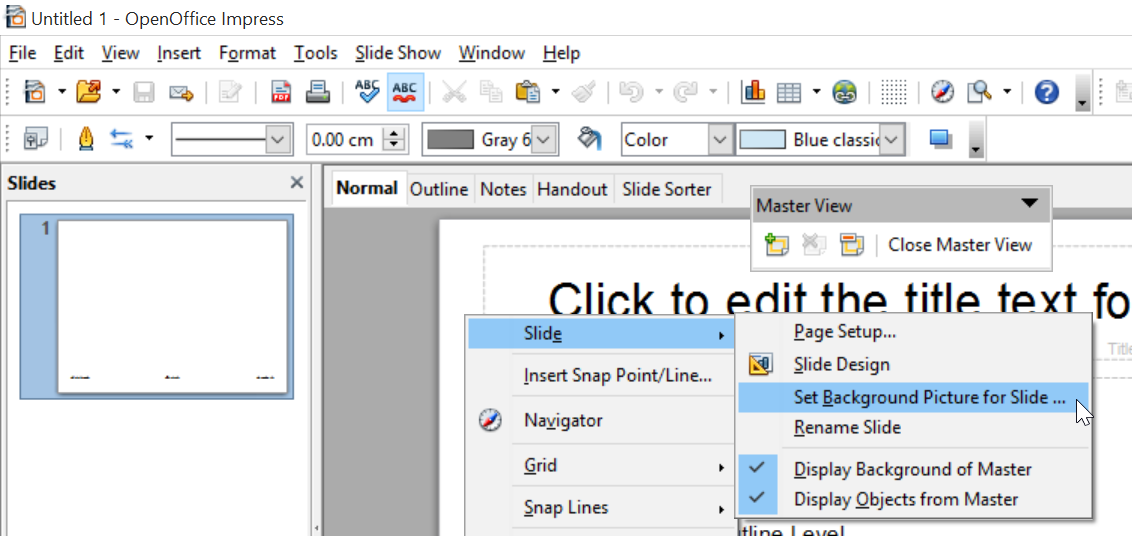 Martiniturbide note to self how to create an impress template on openoffice 4 1 1 - Open office impress templates ...