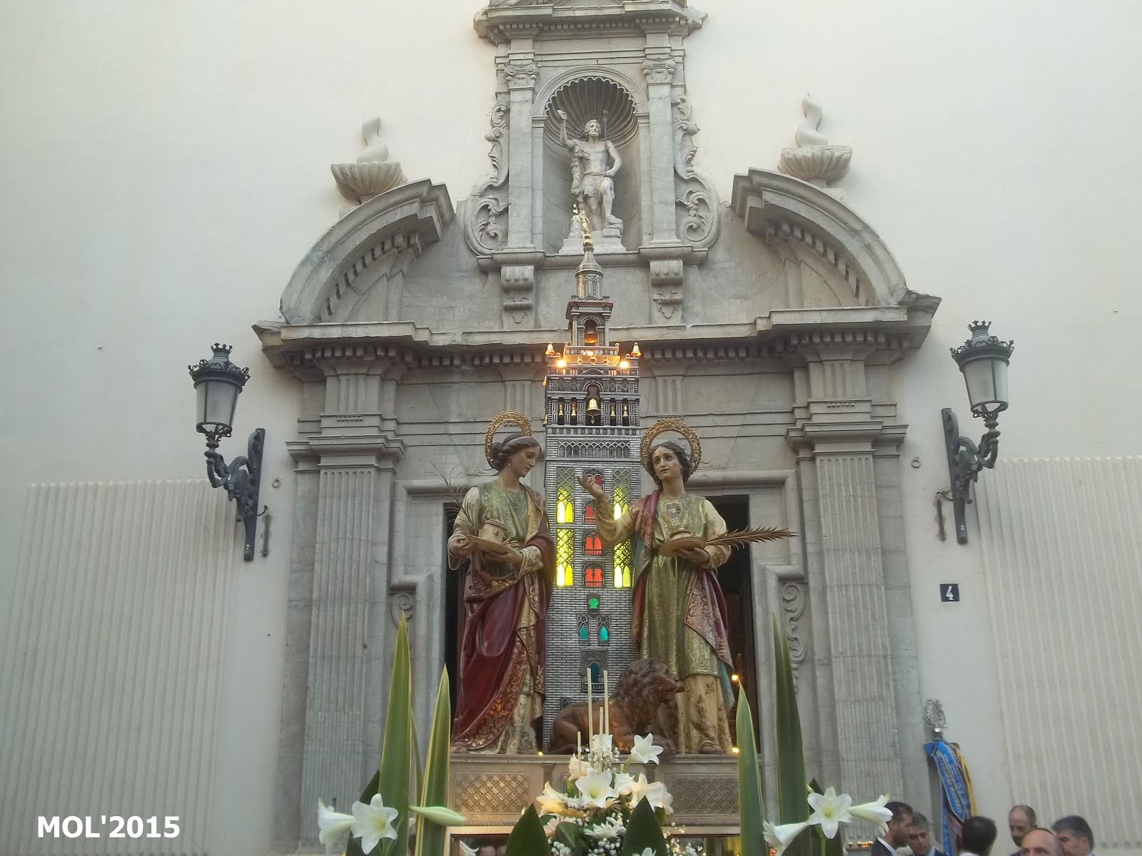 19.07.15 FIESTA A SANTAS JUSTA Y RUFINA, LES SANTES ESCUDELLERES