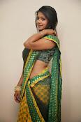glamorous Anu Sri saree photos-thumbnail-10