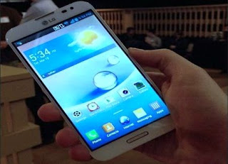 LG launched yet another smartphone named Optimus G Pro in India for a price of Rs. 42,500.