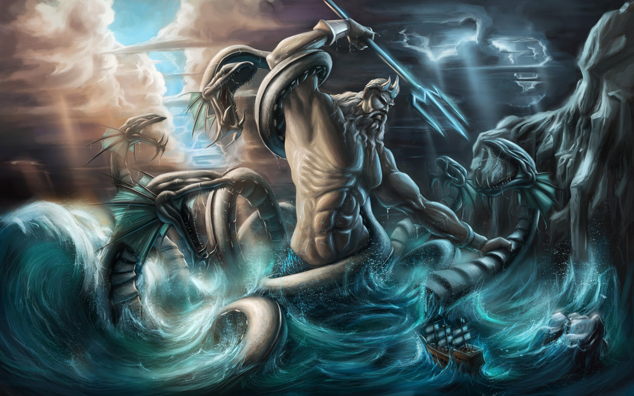 poseidon the god of - photo #14