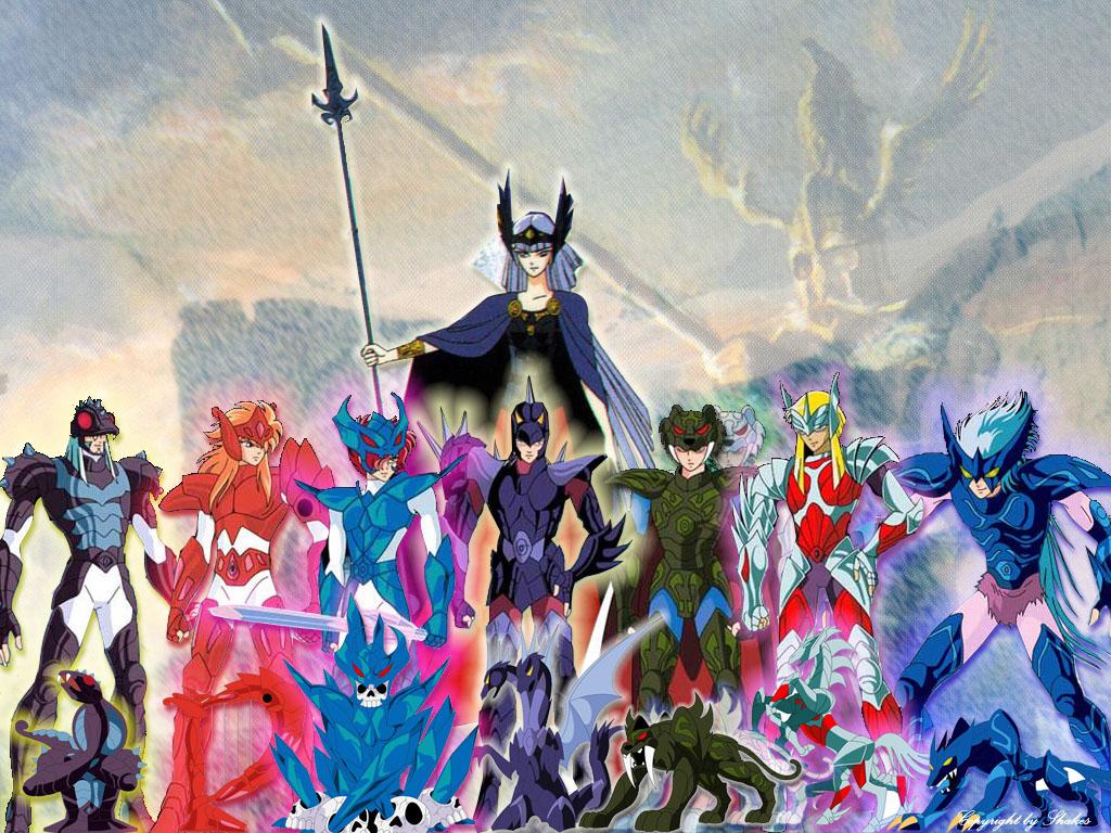 Caballeros Del Zodiaco Asgard