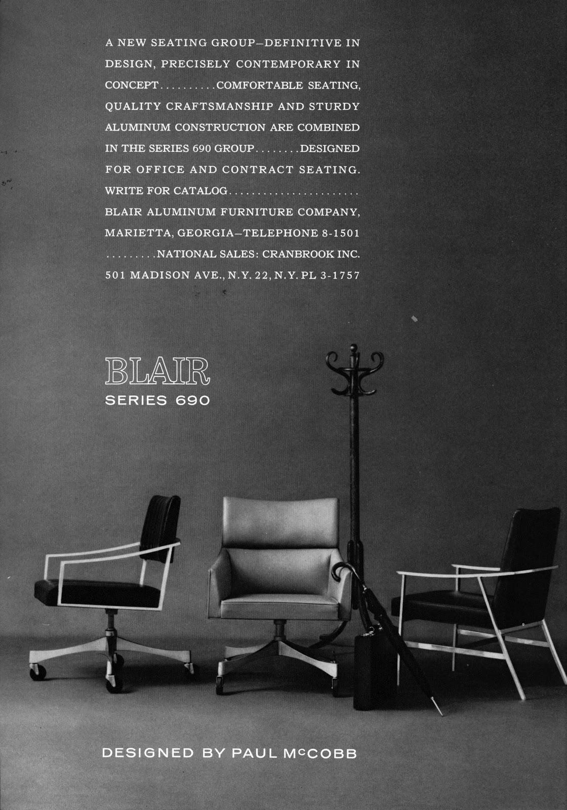 blair aluminum furniture