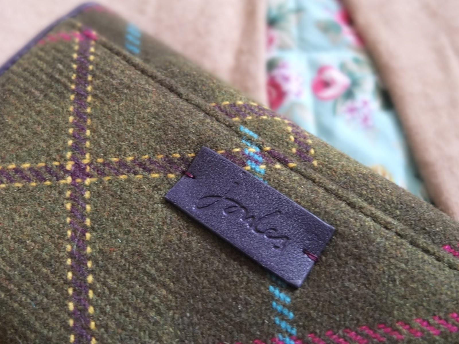 Joules Tweed Purse
