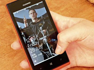 Huawei Ascend W1 windows smartphone