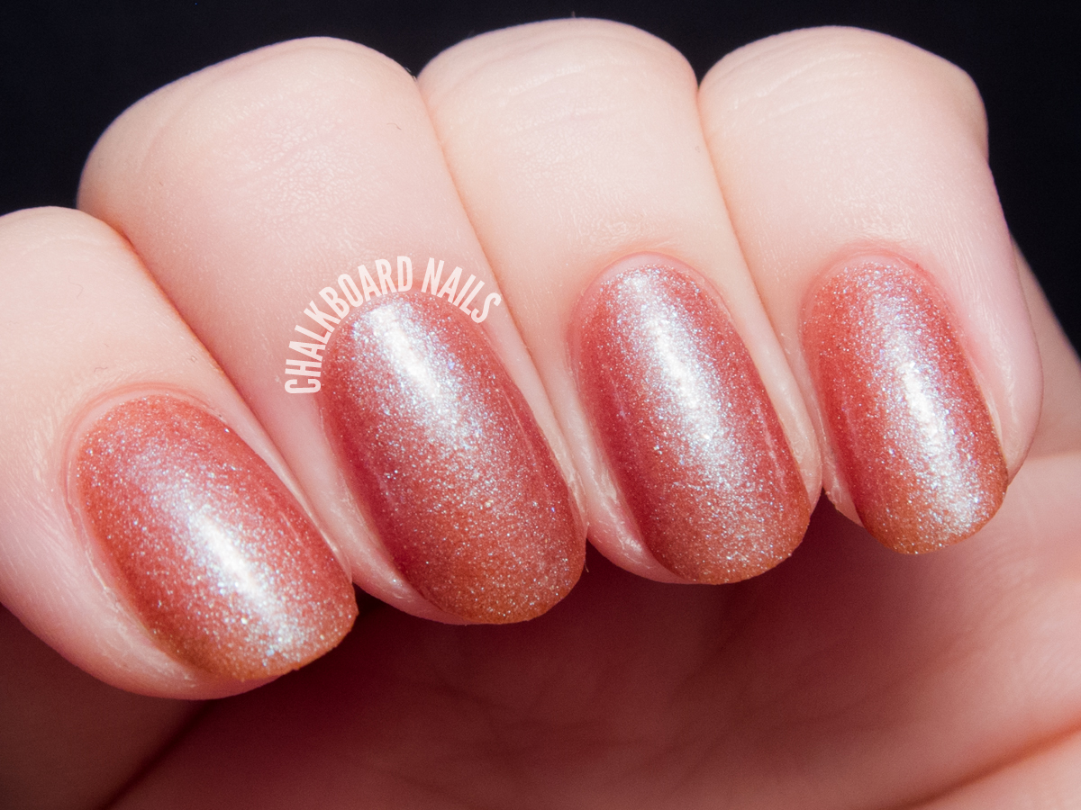 Serum No. 5 Galactic Rainbow via @chalkboardnails