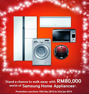 Win RM 80 000 worth of samsung home Appliance in Samsung The Joy of Giving Contest