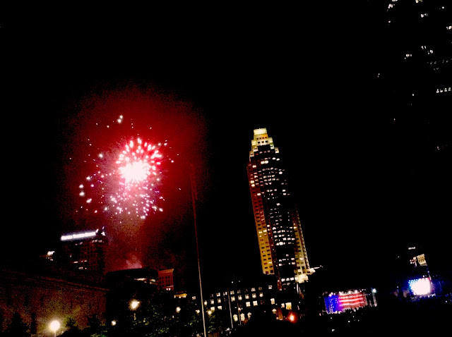 Cleveland Orchestra and fireworks #CLESummer