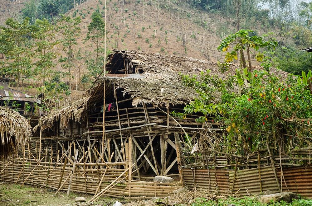 Soffia il vento dell 39 est arunachal pradesh da ziro a for Kit per palafitte