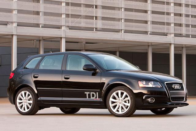 2011 Audi A3 TDi Black Exterior