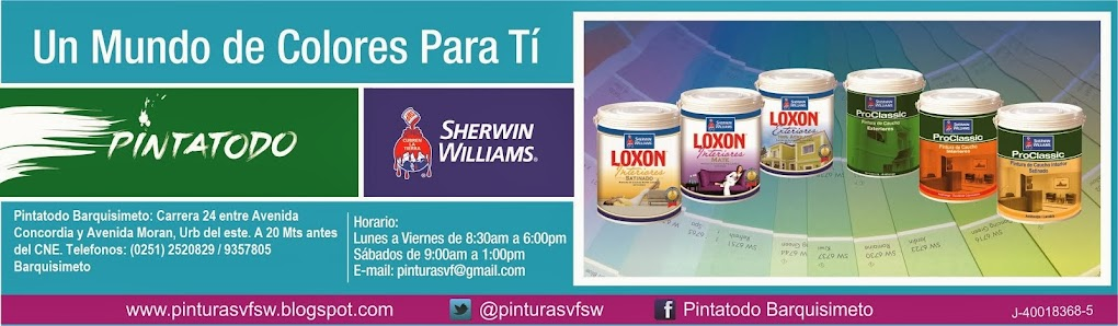 PINTURAS SHERWIN WILLIAMS