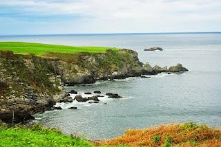 Vista del litoral de Navia