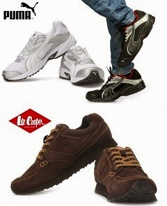 Lowest Price Deal: Puma Volt Running Shoes for Rs.1595 Only | Lee Cooper shoes for Rs.1299 Only @ Groupon