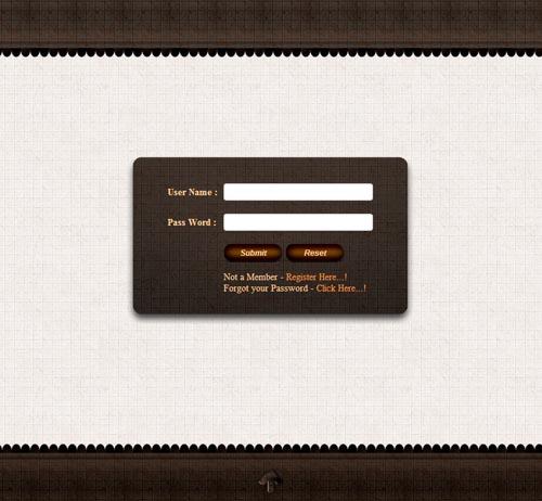Learn Login - Free Login Html Template...! ~ Learn From Net ...