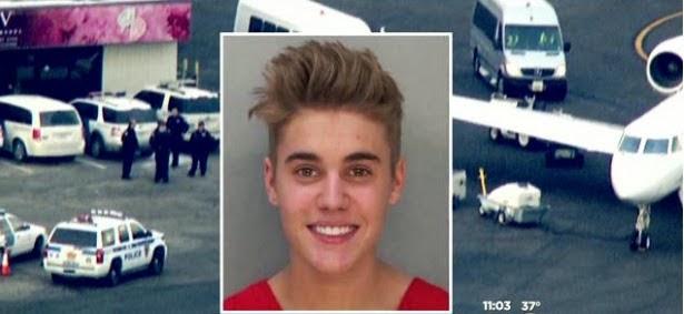 Aereo Privato Justin Bieber : Reportages perquisito l aereo di justin bieber c era