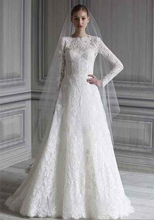 Cheap Wedding Gowns Online Blog Monique Lhuillier 2012 Spring Wedding Dresse