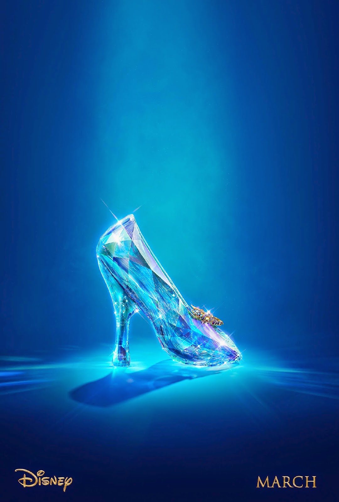 Cinderella 2015 Movie Glass Shoe Wallpaper HD