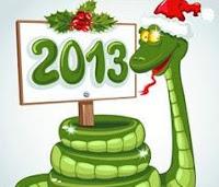 новый год змеи