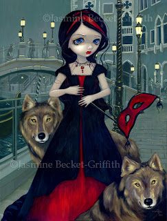 Artist Jasmine Becket-Griffith is best known for her fairies, but she's also painted some darker fantasy images too. Decorate your apartment, dorm or home ...