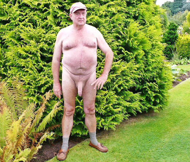 outdoorsman07012012 13 Chubby Sexy Guys Outdoors with their Cocks Hanging Out