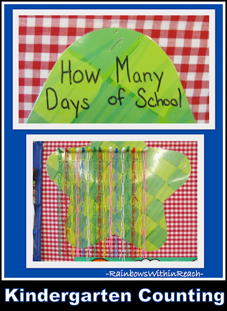 Counting Days as School on Paper Clip Chains