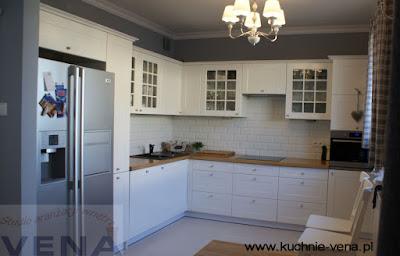 Meble kuchenne Lublin- Vena - Styl prowansalski