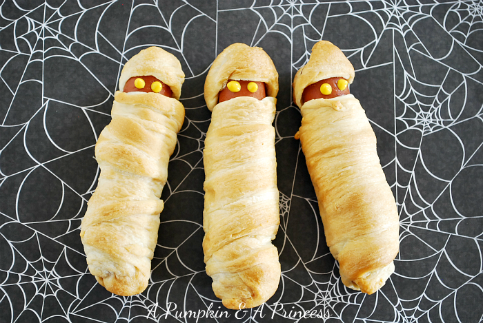 Making a Halloween lunch was a fun way to get the kids excited that ...