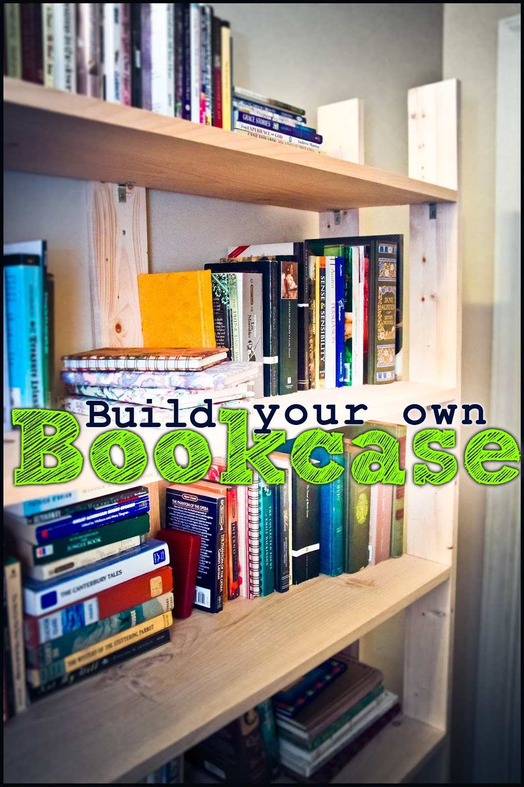 Amazing photo of His Redeemed Child: Library Organization: Build Your Own Bookcase with #6BB516 color and 1066x1600 pixels
