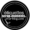 Étiquettes scrap-moments