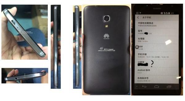 Wujud Phablet Terbaru Buatan Huawei