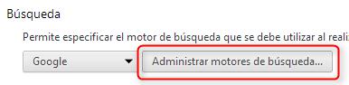 """Botón """"Administrar motores de búsqueda..."""""""
