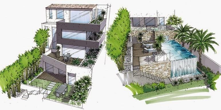 Terrazas construcci n y decoracion de terrazas bonitas - Imagenes de terrazas con plantas ...