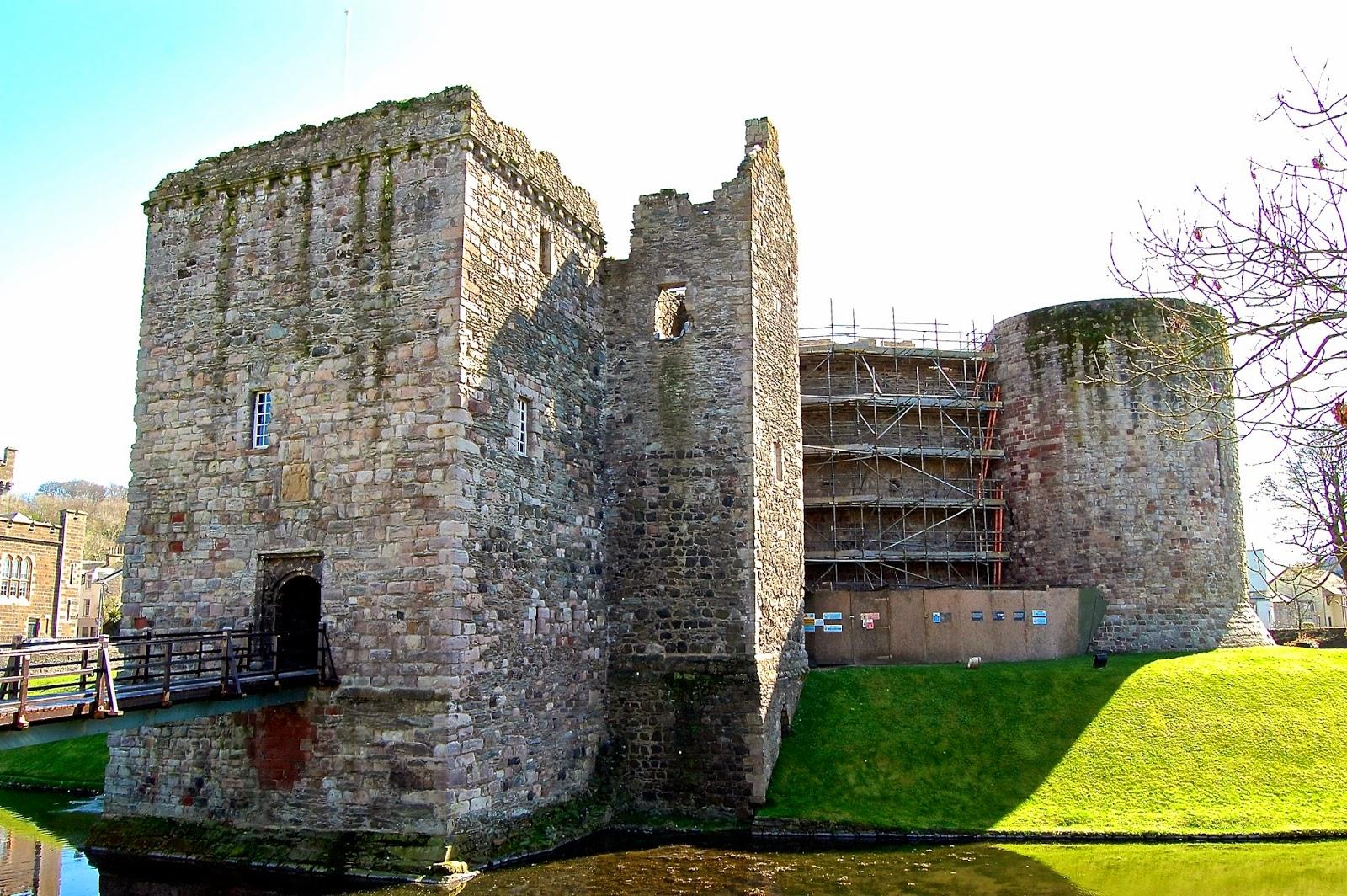 Rothesay Castle gatehouse, Isle of Bute