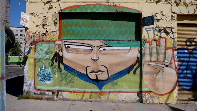 saile graffiti street art in santiago de chile