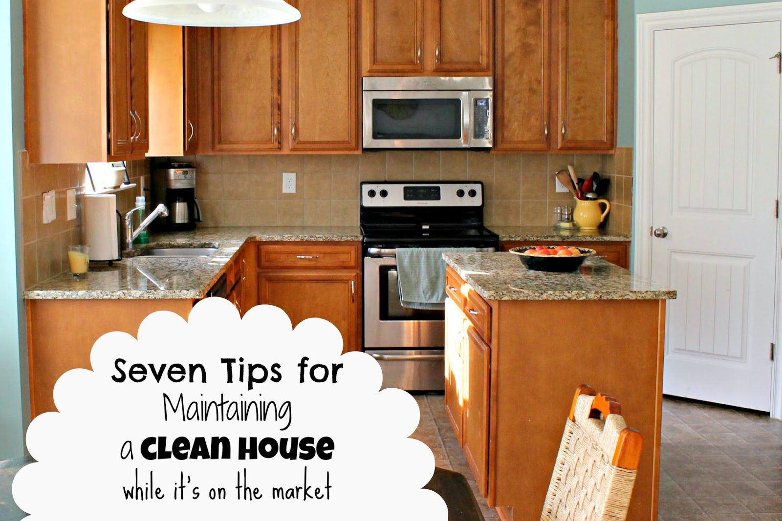 how to maintain a clean house