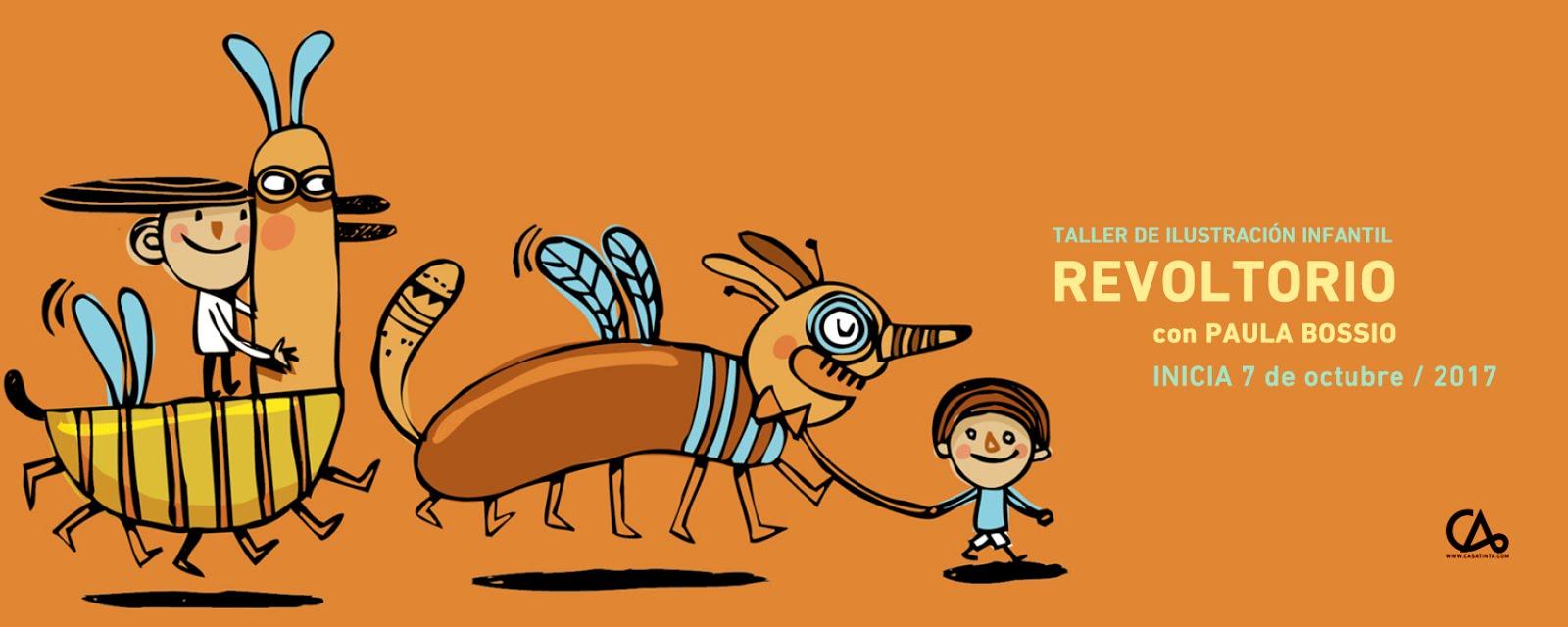 REVOLTORIO: ilustración infantil