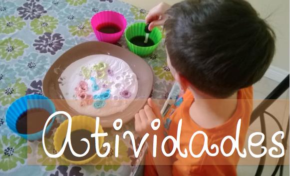Atividades com as Crianças