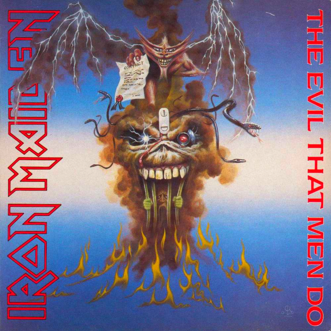 The Evil That Men Do - Iron Maiden
