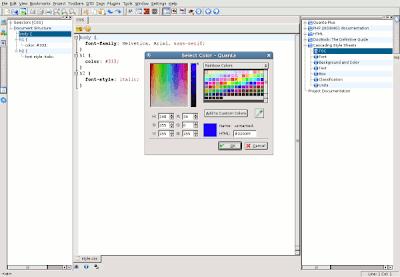 Free HTML Editor: Quanta Plus