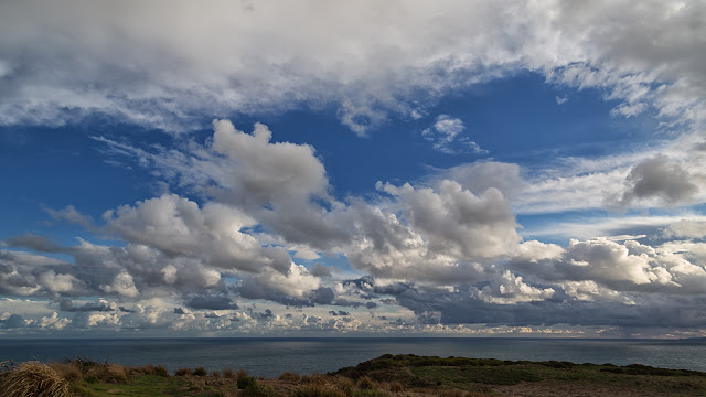 stratocumulus over sea