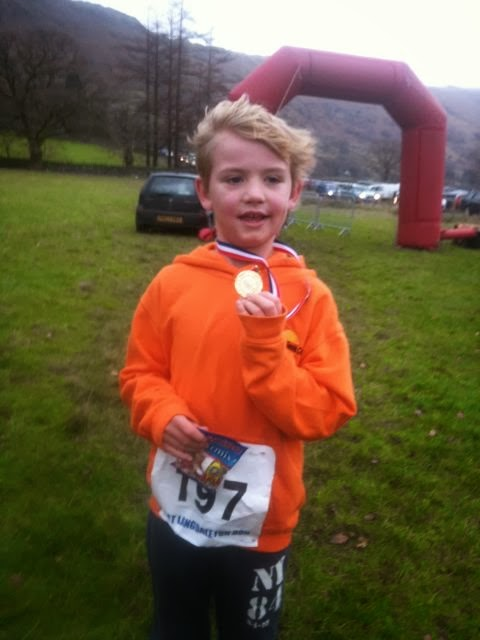 Langdale Fun run medal