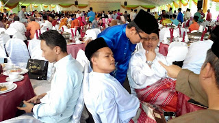 Hadir Majlis Berbuka Puasa PM di   Seri Perdana. Putrajaya|ybm tengku zaihan