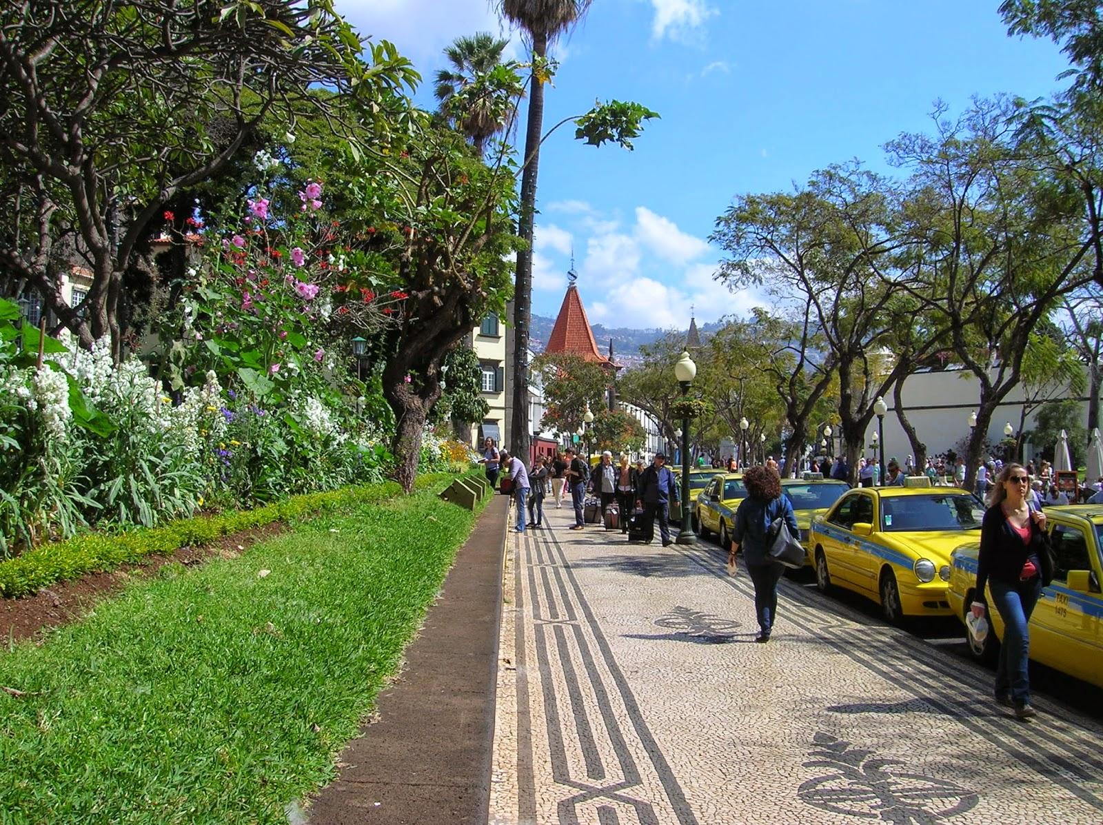 Avenida de Arriaga, Funchal, Madeira, Portugal, La vuelta al mundo de Asun y Ricardo, round the world, mundoporlibre.com