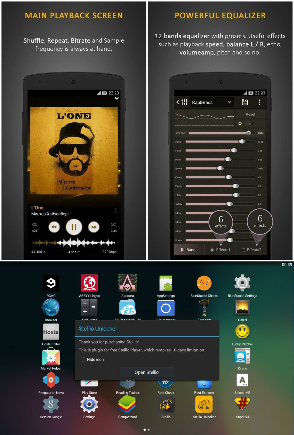 Stellio Music Player 4.59 + Unlocker APK is Here [Latest ...