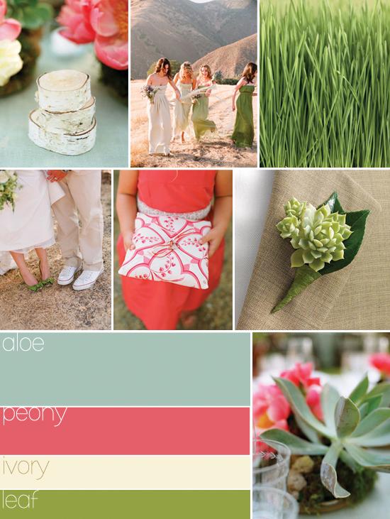 My stunning wedding for less hot summer wedding colors for Summer wedding colors pictures