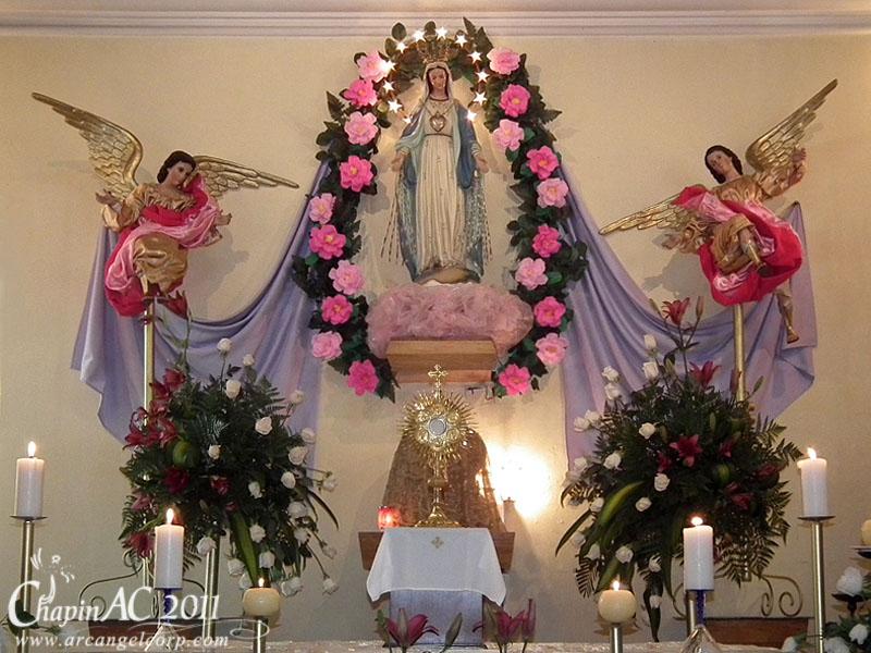 Decoracion Altar Virgen De Guadalupe ~ de gala este d?a para celebrar la festividad de Nuestra Se?ora de