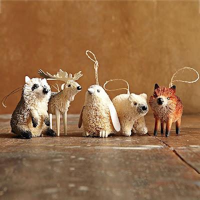 Các con vật trang trí Giáng sinh - CayPhaLe.com