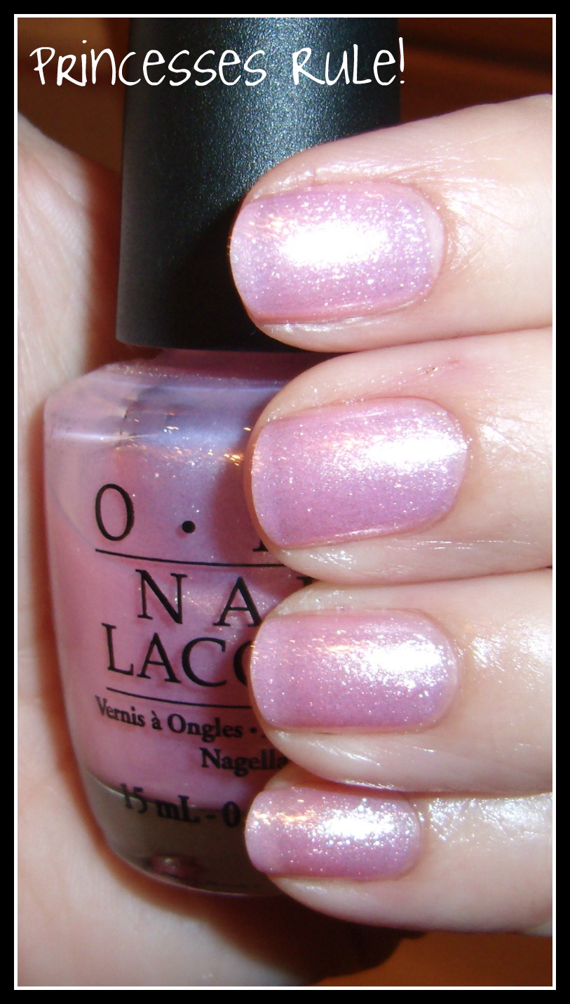 Opi Princesses Rule Pictures And Review